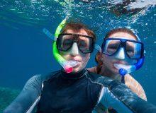 snorkeling sal island